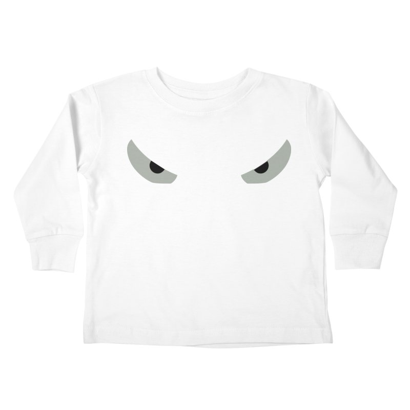 Toa - Tribal Grey Eyes - Limited Edition Kids Toddler Longsleeve T-Shirt by TribEyes by Oly