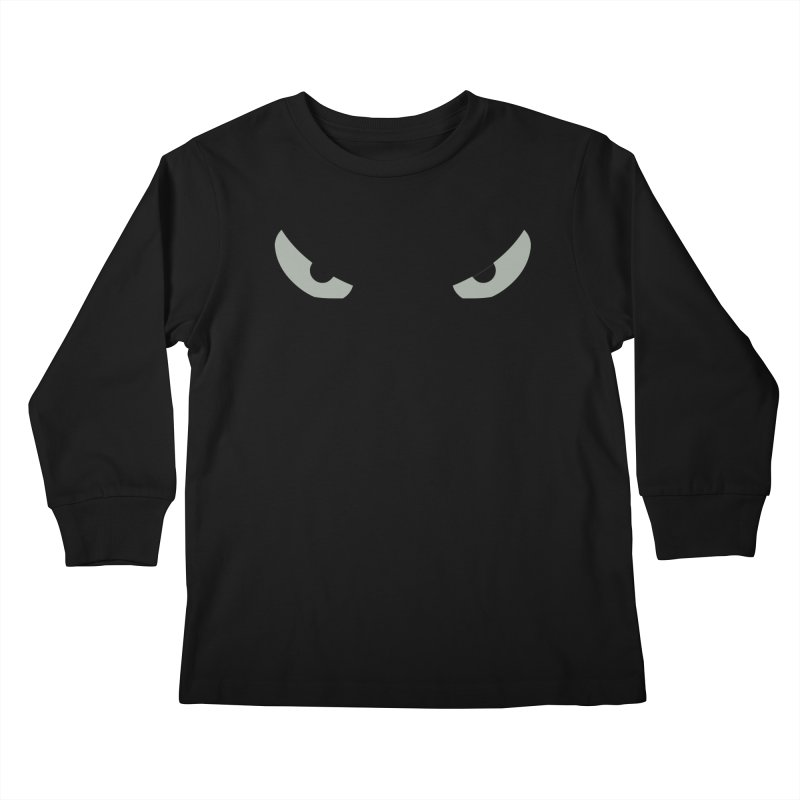 Toa - Tribal Grey Eyes - Limited Edition Kids Longsleeve T-Shirt by TribEyes by Oly