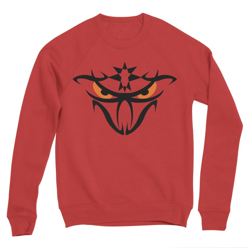 Toa ! The Tribal Bold and Star - Orange Eyes Men's Sweatshirt by TribEyes by Oly