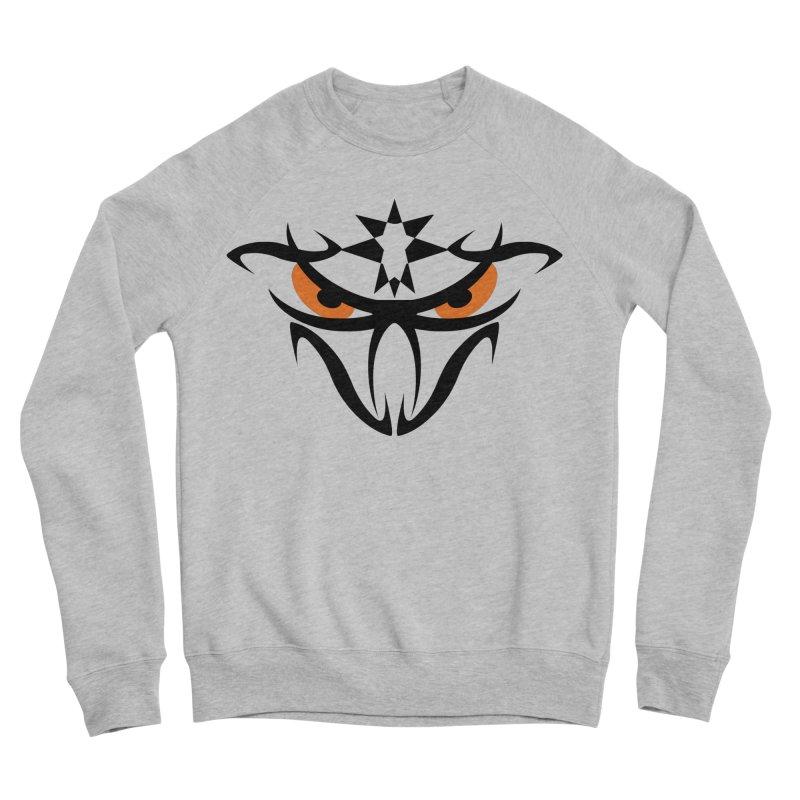 Toa ! The Tribal Bold and Star - Orange Eyes Men's Sponge Fleece Sweatshirt by TribEyes by Oly