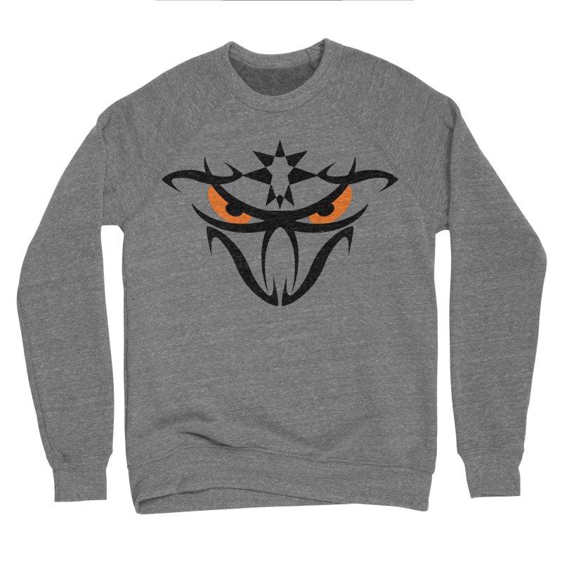 Toa ! The Tribal Bold and Star - Orange Eyes Women's Sponge Fleece Sweatshirt by TribEyes by Oly