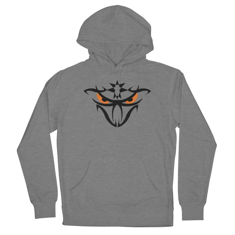 Toa ! The Tribal Bold and Star - Orange Eyes Women's Pullover Hoody by TribEyes by Oly