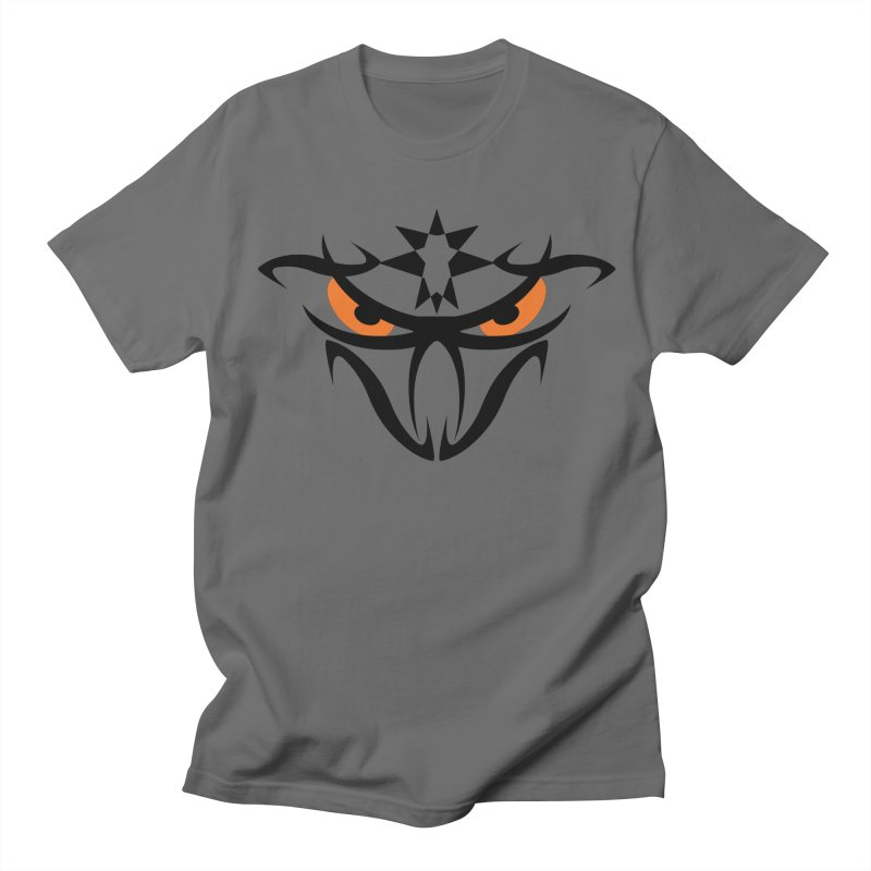 Toa ! The Tribal Bold and Star - Orange Eyes Women's Regular Unisex T-Shirt by TribEyes by Oly