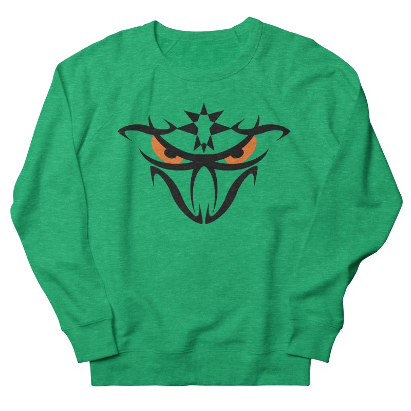 Toa ! The Tribal Bold and Star - Orange Eyes Women's Sweatshirt by TribEyes by Oly