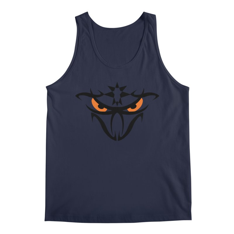 Toa ! The Tribal Bold and Star - Orange Eyes Men's Regular Tank by TribEyes by Oly