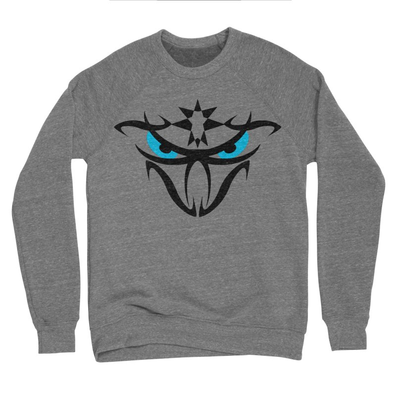 Toa ! The Tribal Bold and Star - Blue Eyes Women's Sponge Fleece Sweatshirt by TribEyes by Oly