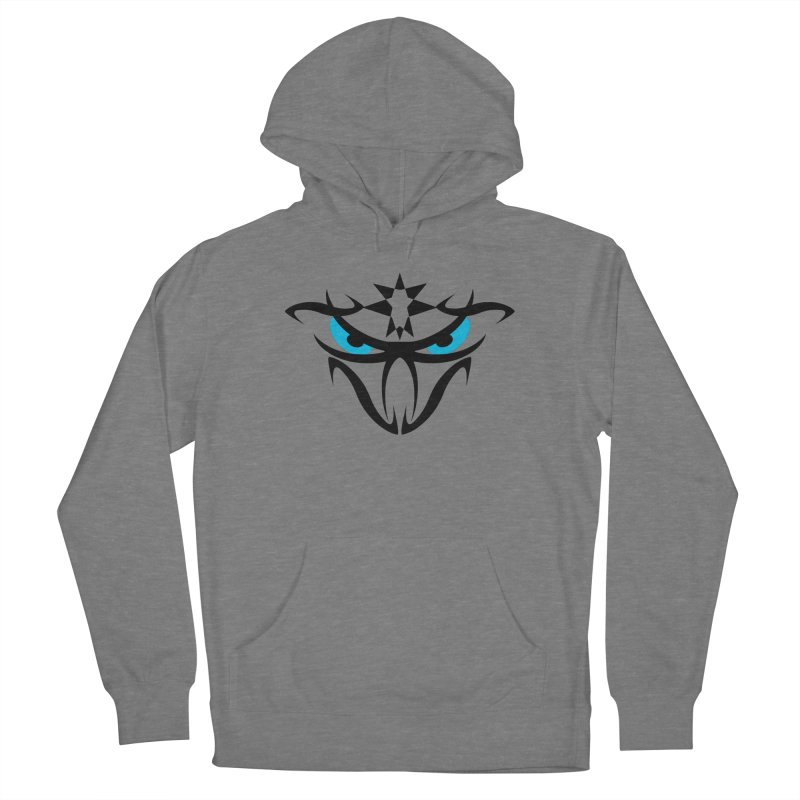 Toa ! The Tribal Bold and Star - Blue Eyes Women's Pullover Hoody by TribEyes by Oly