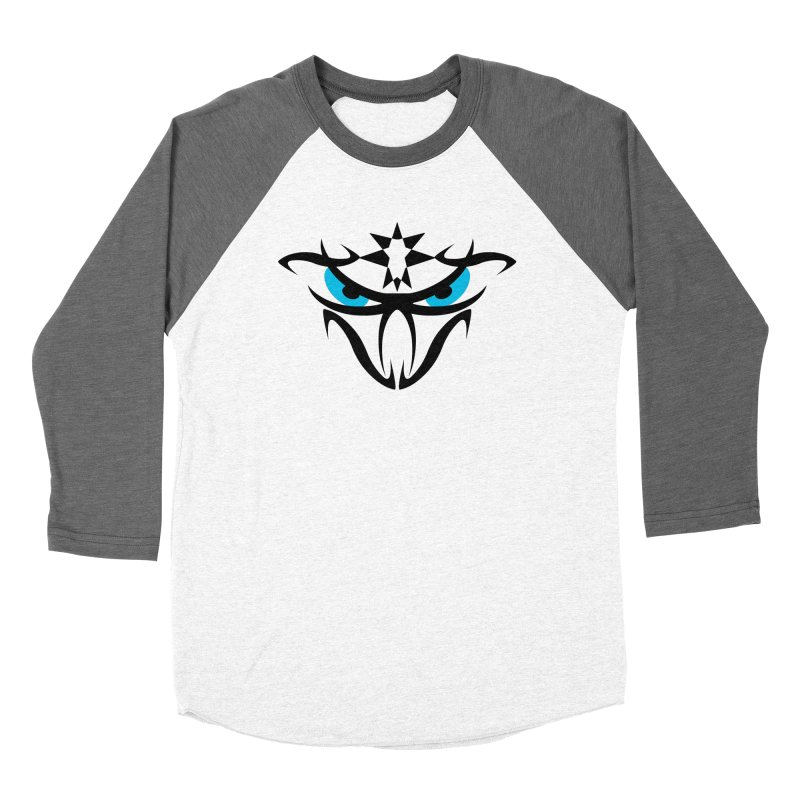 Toa ! The Tribal Bold and Star - Blue Eyes Women's Longsleeve T-Shirt by TribEyes by Oly