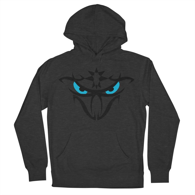 Toa ! The Tribal Bold and Star - Blue Eyes Women's French Terry Pullover Hoody by TribEyes by Oly