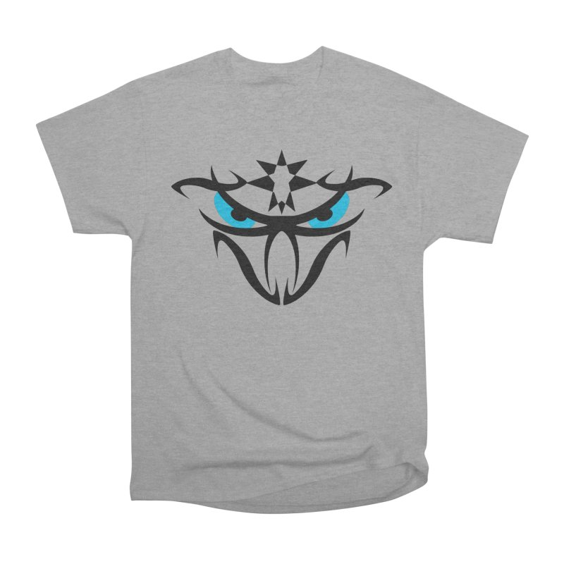 Toa ! The Tribal Bold and Star - Blue Eyes Women's Heavyweight Unisex T-Shirt by TribEyes by Oly