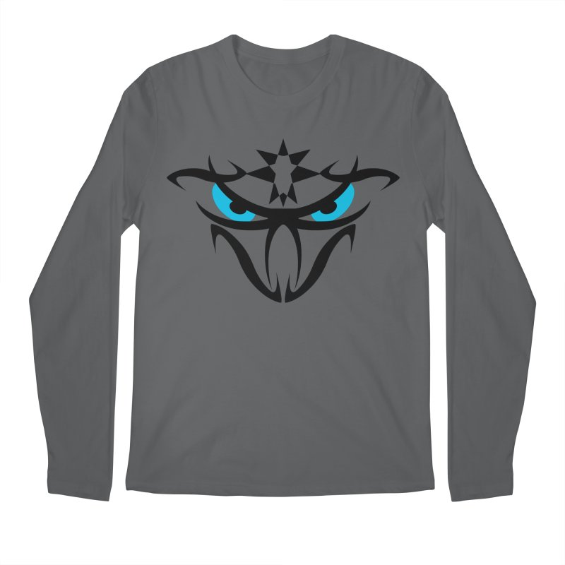 Toa ! The Tribal Bold and Star - Blue Eyes Men's Longsleeve T-Shirt by TribEyes by Oly