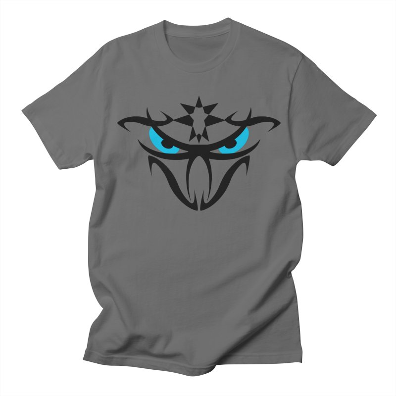 Toa ! The Tribal Bold and Star - Blue Eyes Men's T-Shirt by TribEyes by Oly
