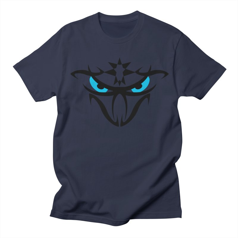 Toa ! The Tribal Bold and Star - Blue Eyes Men's Regular T-Shirt by TribEyes by Oly