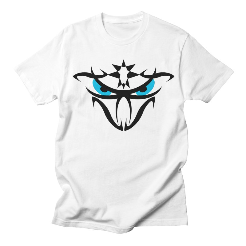 Toa ! The Tribal Bold and Star - Blue Eyes Women's Regular Unisex T-Shirt by TribEyes by Oly