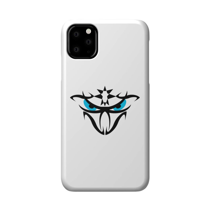 Toa ! The Tribal Bold and Star - Blue Eyes Accessories Phone Case by TribEyes by Oly