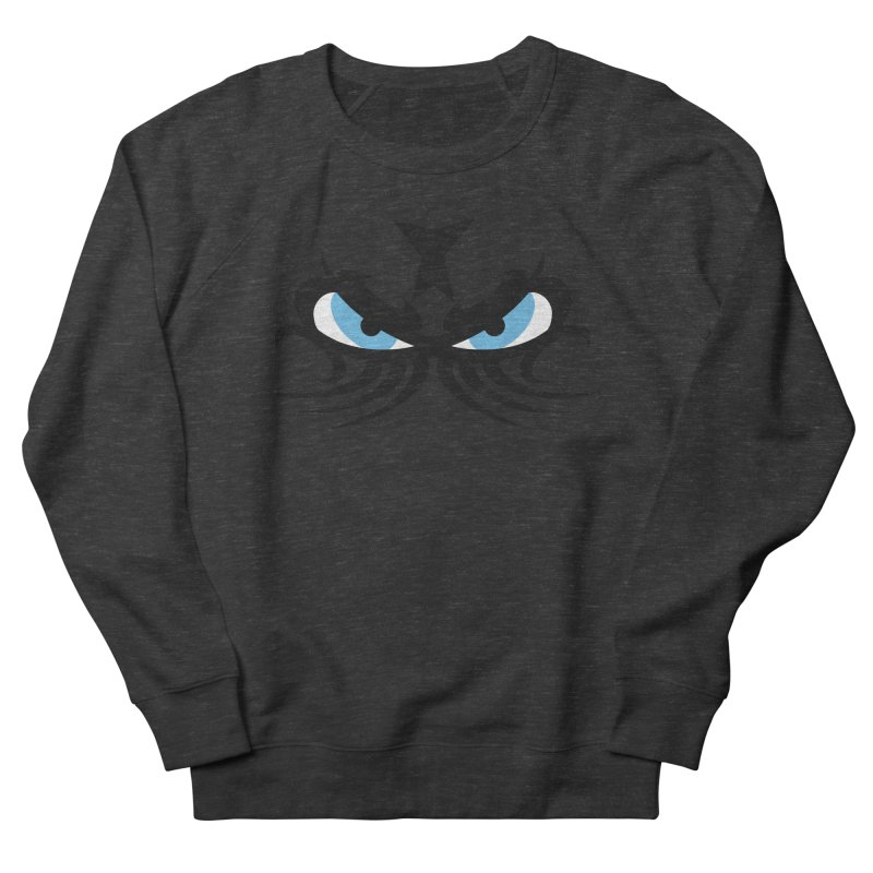 Ariki ! The Tribal Master - Blue Eyes Men's French Terry Sweatshirt by TribEyes by Oly