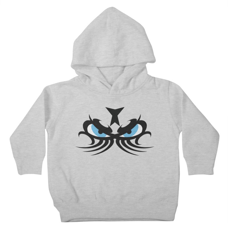 Ariki ! The Tribal Master - Blue Eyes Kids Toddler Pullover Hoody by TribEyes by Oly