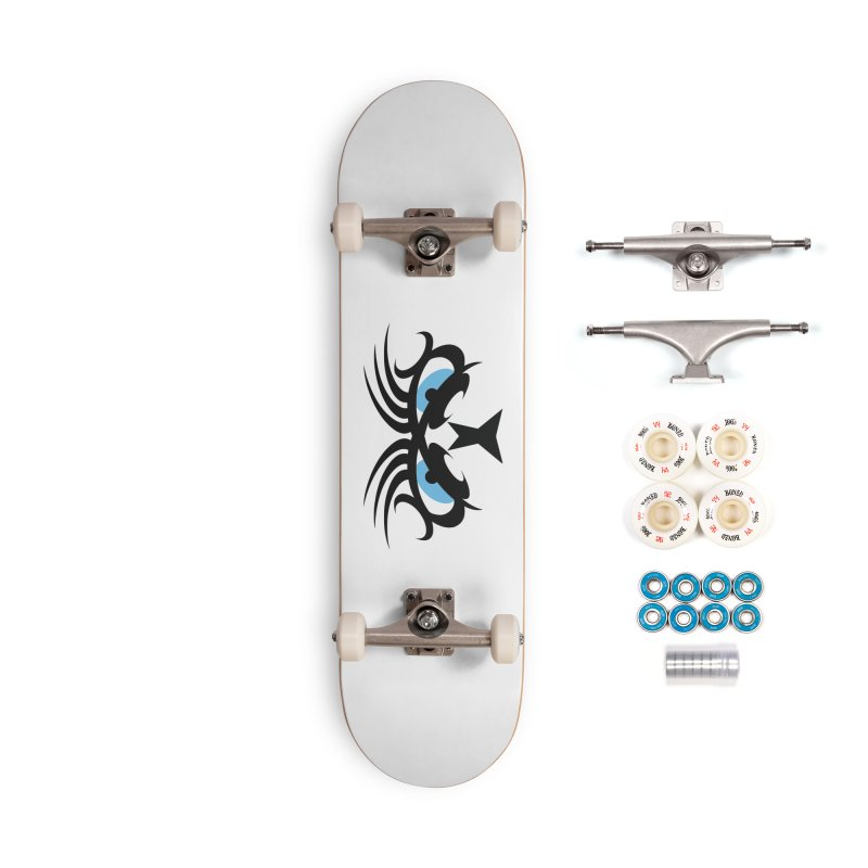 Ariki ! The Tribal Master - Blue Eyes Accessories Complete - Premium Skateboard by TribEyes by Oly