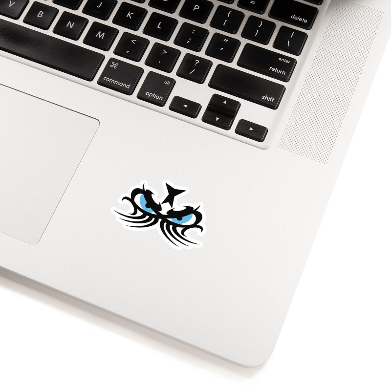 Ariki ! The Tribal Master - Blue Eyes Accessories Sticker by TribEyes by Oly