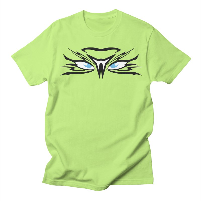 Kahu ! The Tribal Hawk with Piercing View - Blue Eyes Women's T-Shirt by TribEyes by Oly