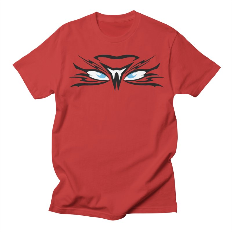 Kahu ! The Tribal Hawk with Piercing View - Blue Eyes Women's Regular Unisex T-Shirt by TribEyes by Oly