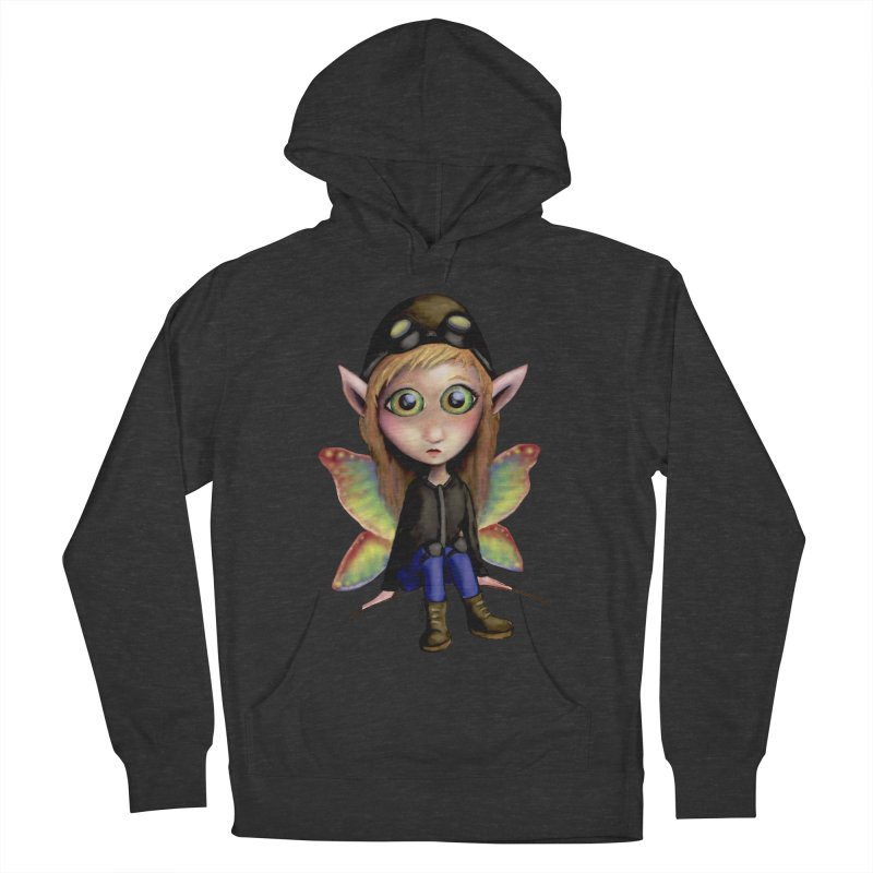 Fairy Aviator Women's Pullover Hoody by Trick's Place's Artist Shop