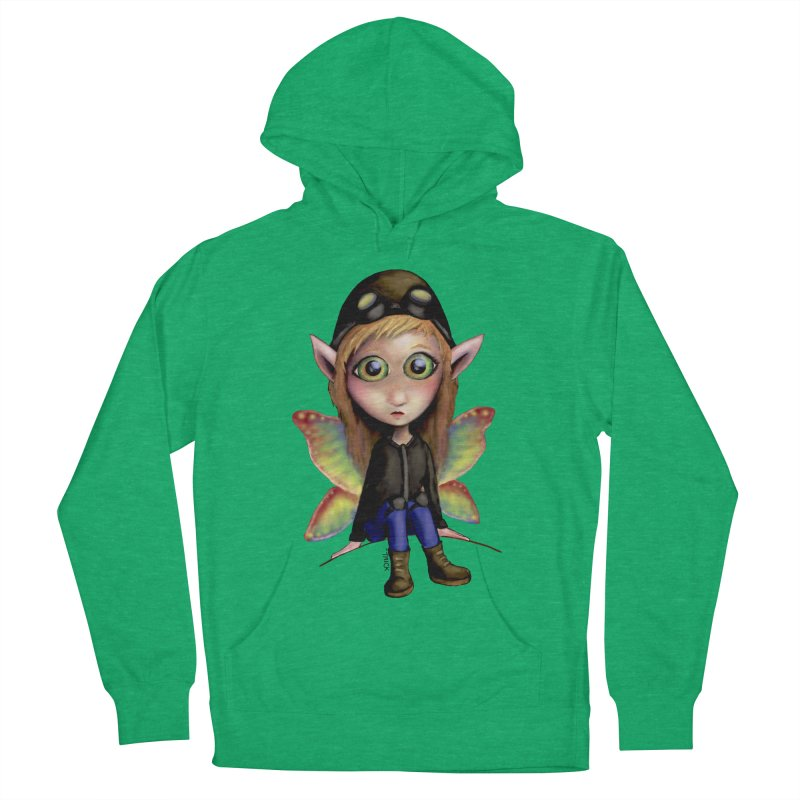 Fairy Aviator Men's Pullover Hoody by Trick's Place's Artist Shop