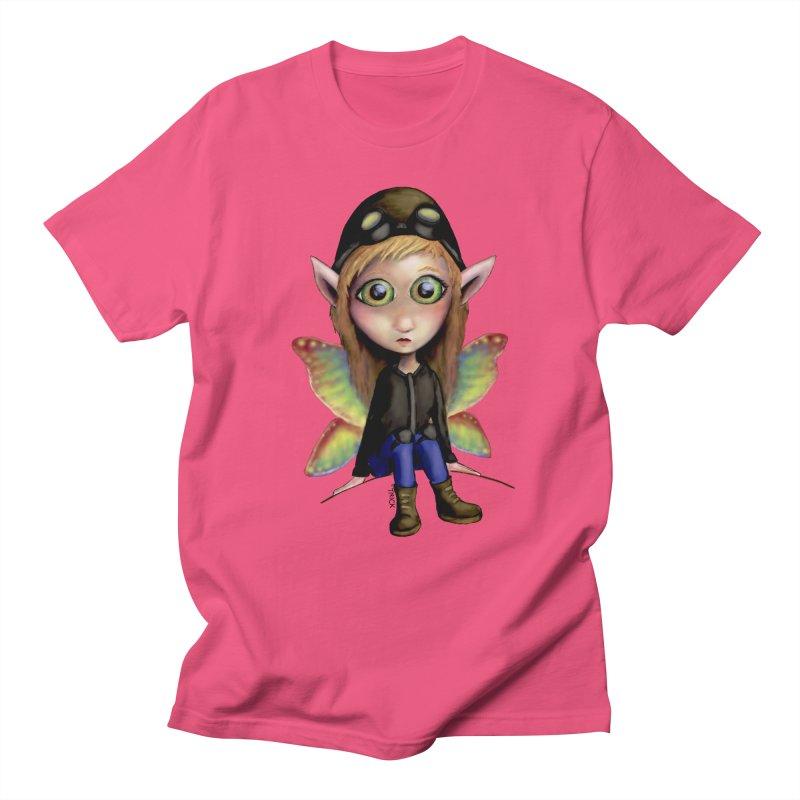 Fairy Aviator Men's T-shirt by Trick's Place's Artist Shop
