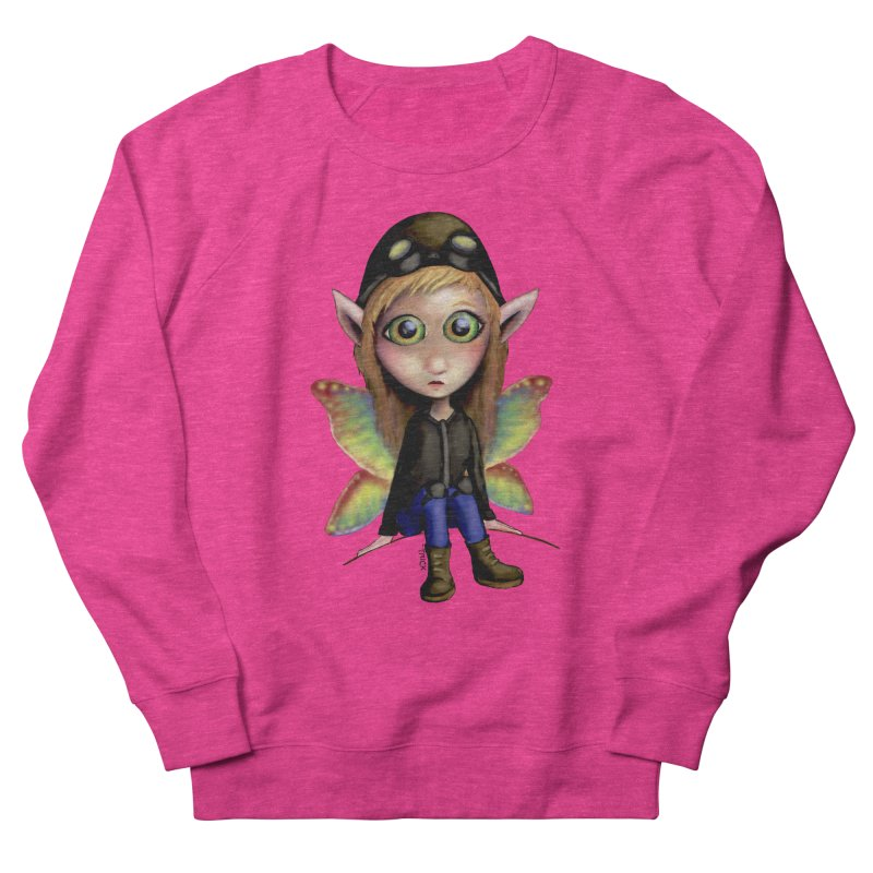 Fairy Aviator Men's Sweatshirt by Trick's Place's Artist Shop
