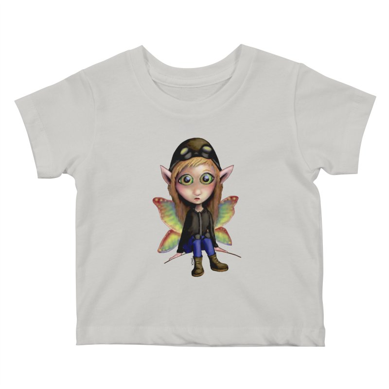 Fairy Aviator Kids Baby T-Shirt by Trick's Place's Artist Shop