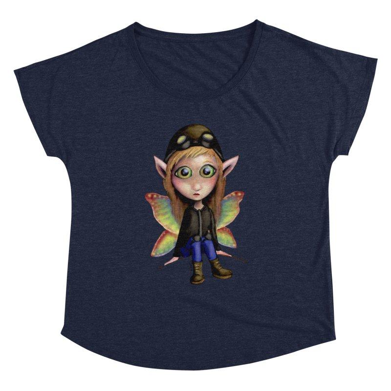 Fairy Aviator Women's Dolman by Trick's Place's Artist Shop