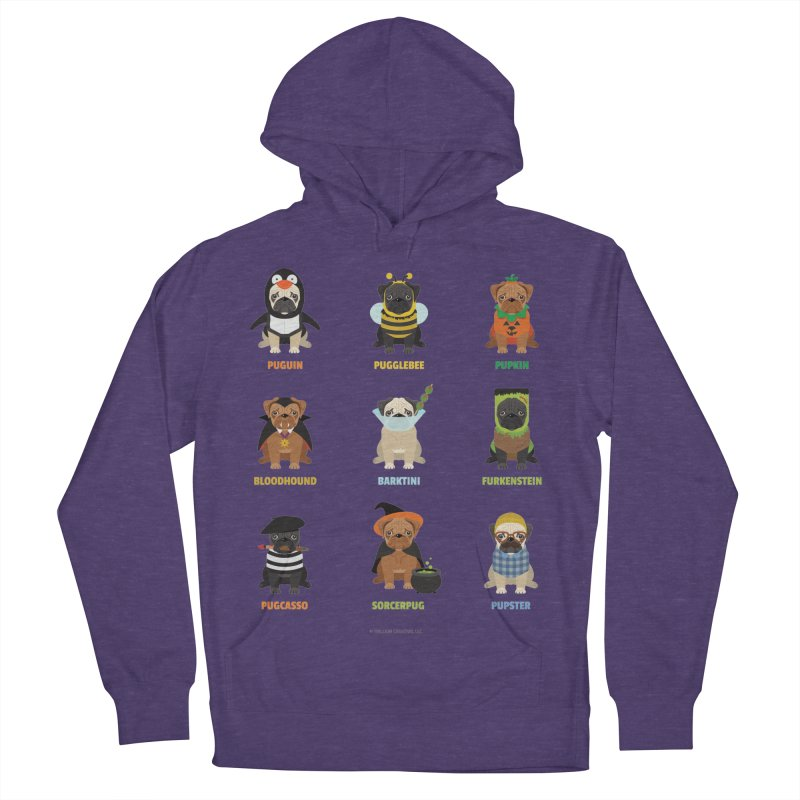 A Very Pug-o-ween Men's French Terry Pullover Hoody by Trillion's Shop