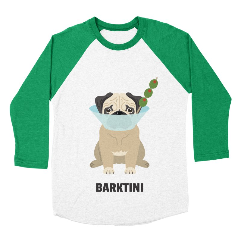 Barktini Men's Baseball Triblend T-Shirt by Trillion's Shop
