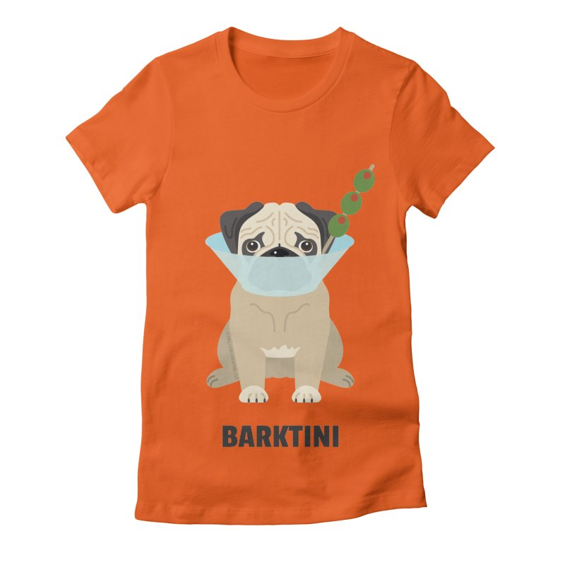 Barktini Women's Fitted T-Shirt by Trillion's Shop