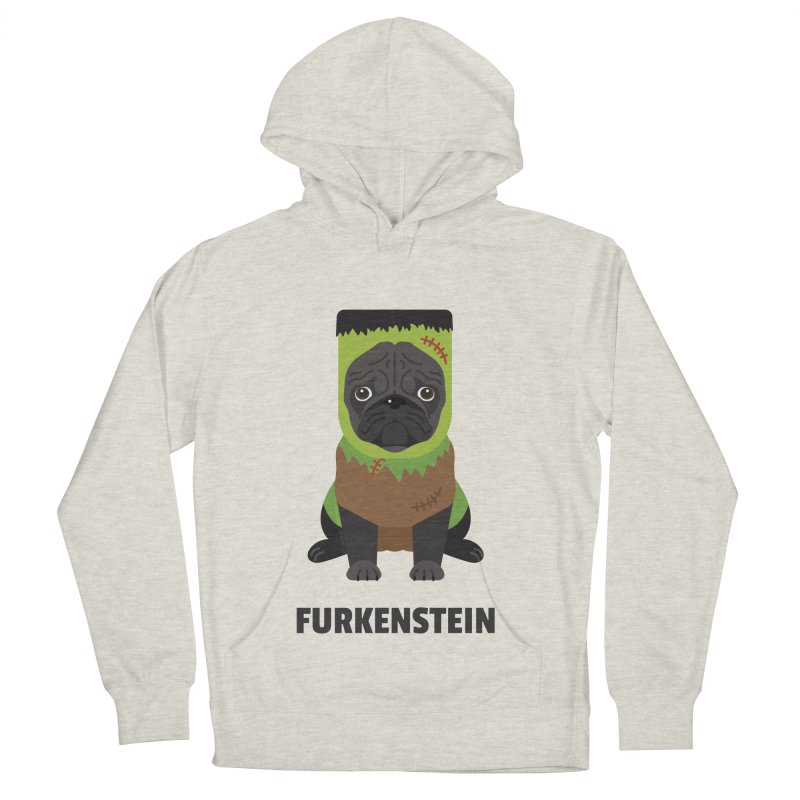 Furkenstein Men's French Terry Pullover Hoody by Trillion's Shop