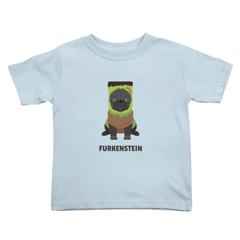 Furkenstein Kids Toddler T-Shirt by Trillion's Shop