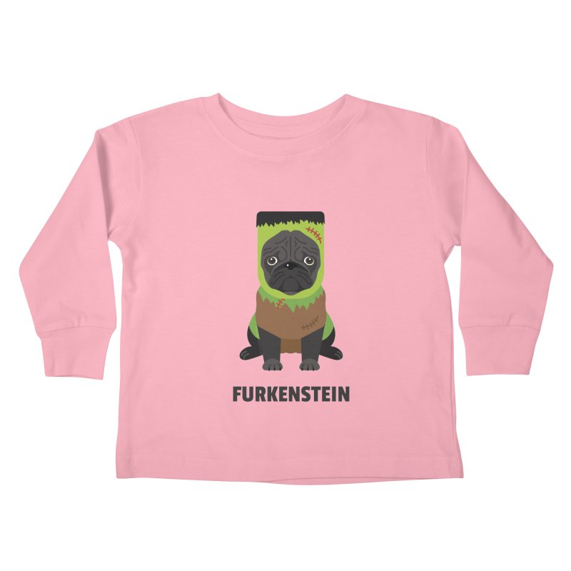 Furkenstein Kids Toddler Longsleeve T-Shirt by Trillion's Shop