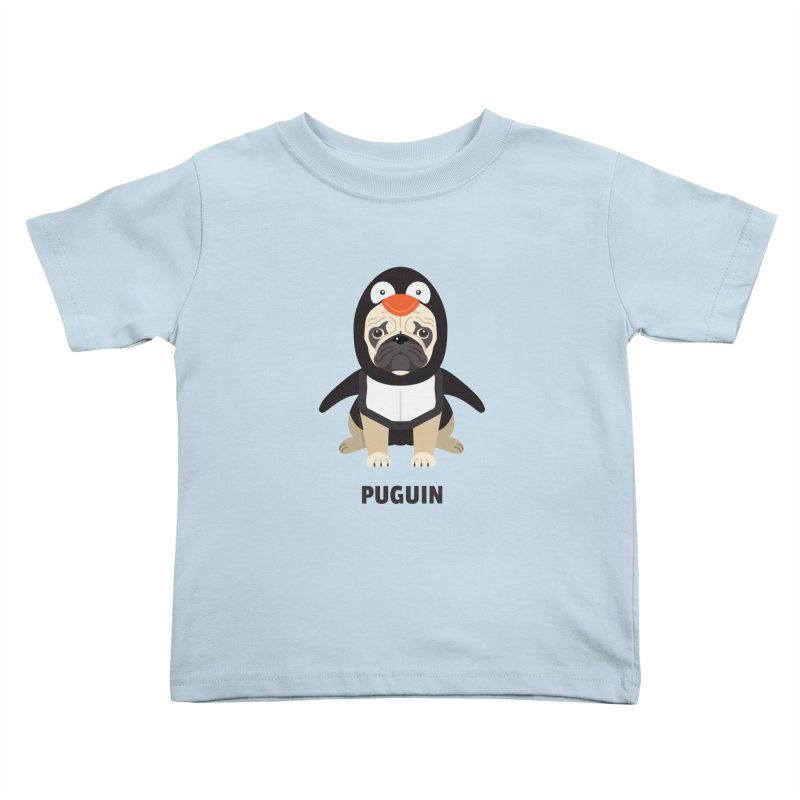 Puguin Kids Toddler T-Shirt by Trillion's Shop