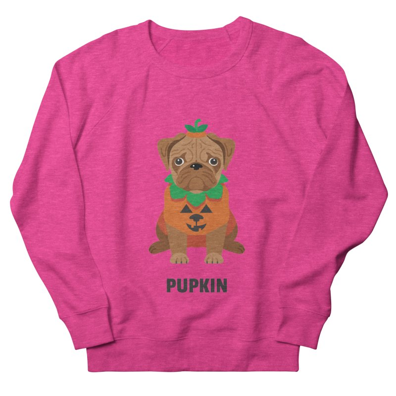Pupkin Women's French Terry Sweatshirt by Trillion's Shop