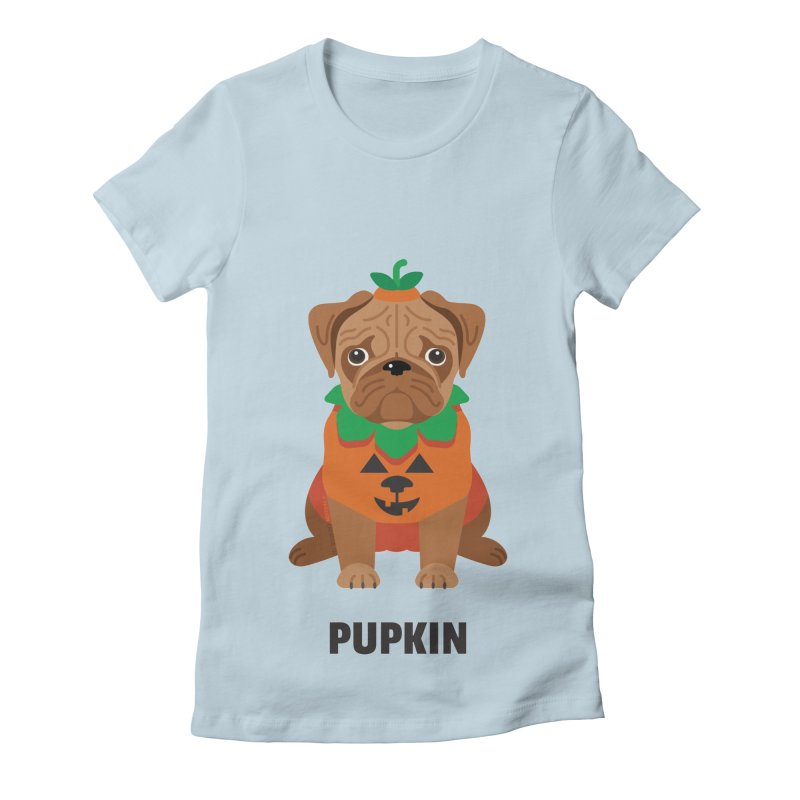 Pupkin Women's Fitted T-Shirt by Trillion's Shop