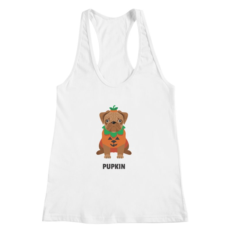 Pupkin Women's Racerback Tank by Trillion's Shop