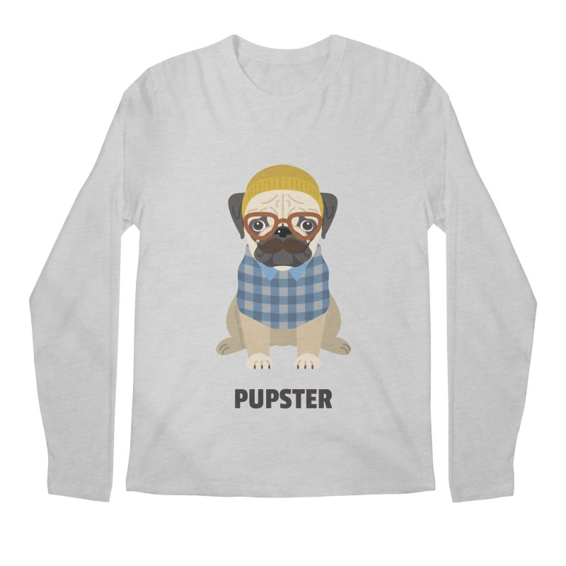 Pupster Men's Longsleeve T-Shirt by Trillion's Shop