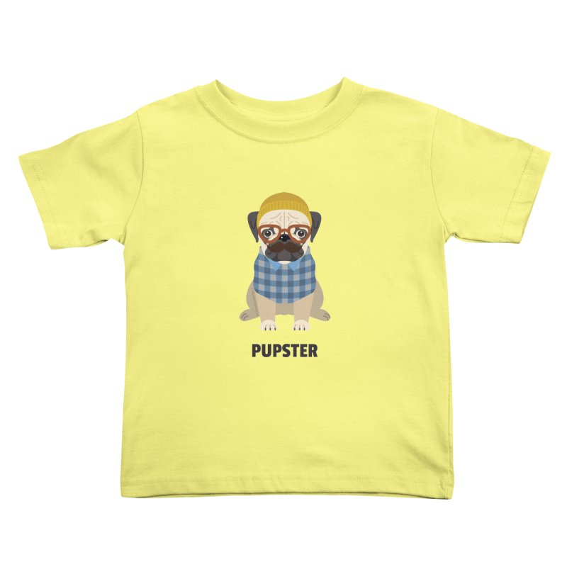 Pupster Kids Toddler T-Shirt by Trillion's Shop