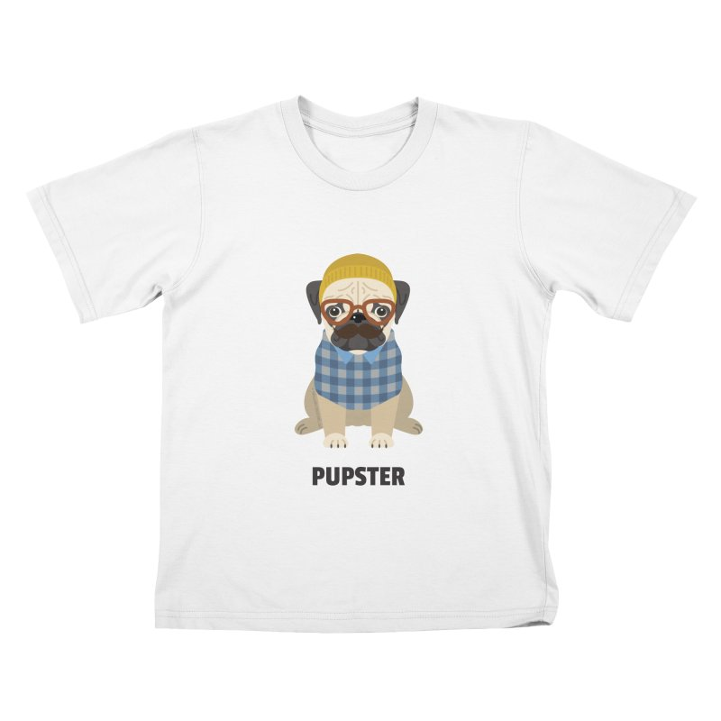 Pupster Kids T-Shirt by Trillion's Shop