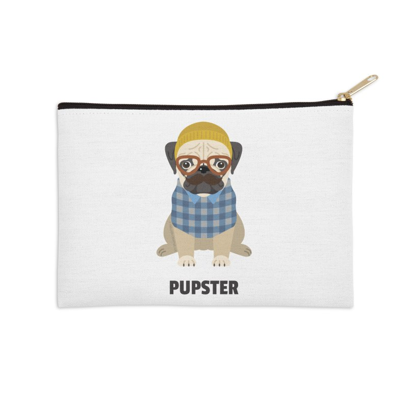 Pupster Accessories Zip Pouch by Trillion's Shop