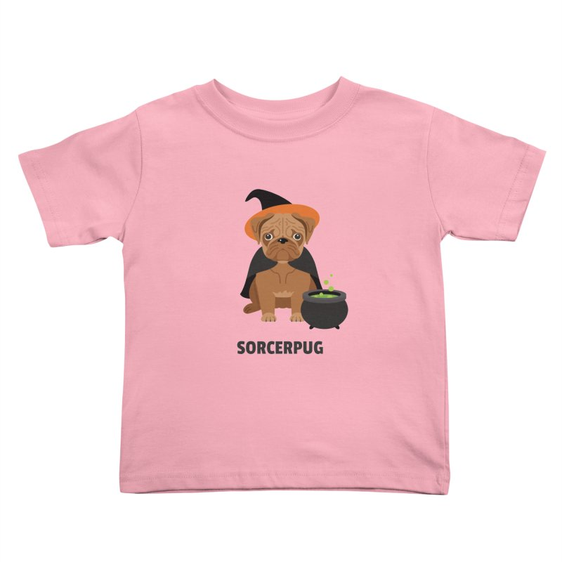 Sorcerpug Kids Toddler T-Shirt by Trillion's Shop