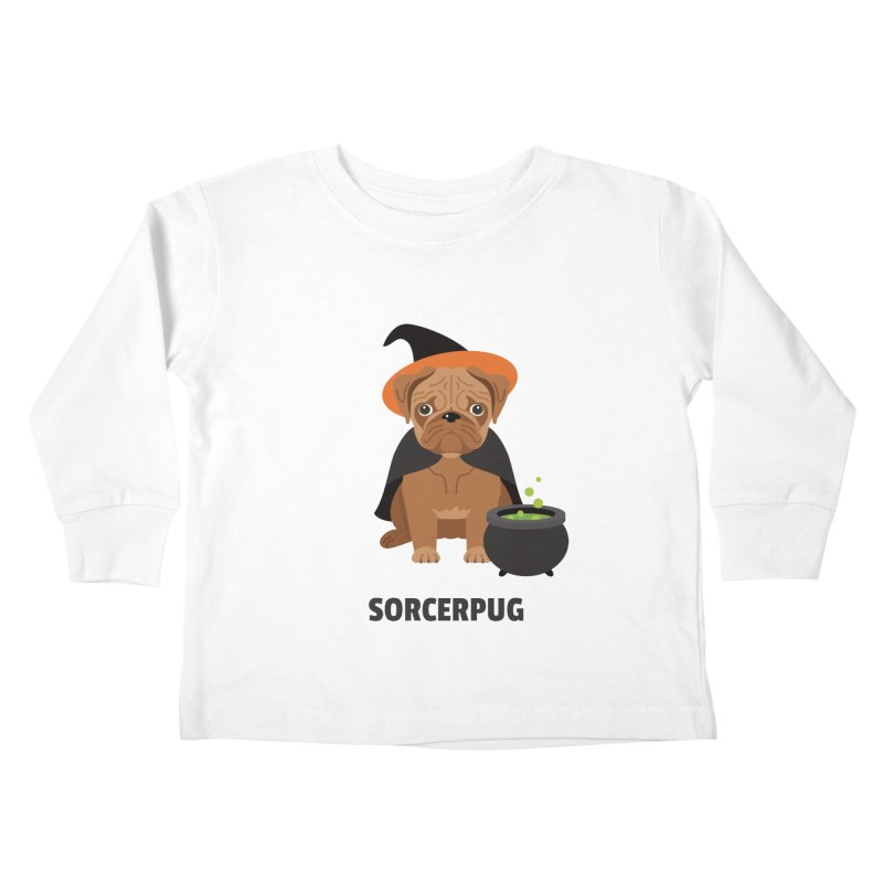 Sorcerpug Kids Toddler Longsleeve T-Shirt by Trillion's Shop