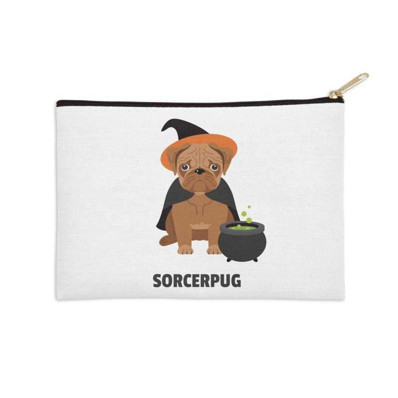 Sorcerpug Accessories Zip Pouch by Trillion's Shop