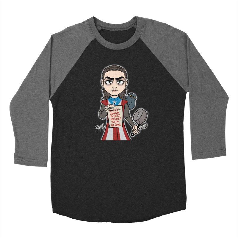 THE LIST Men's Baseball Triblend Longsleeve T-Shirt by Tripleta Studio Shop