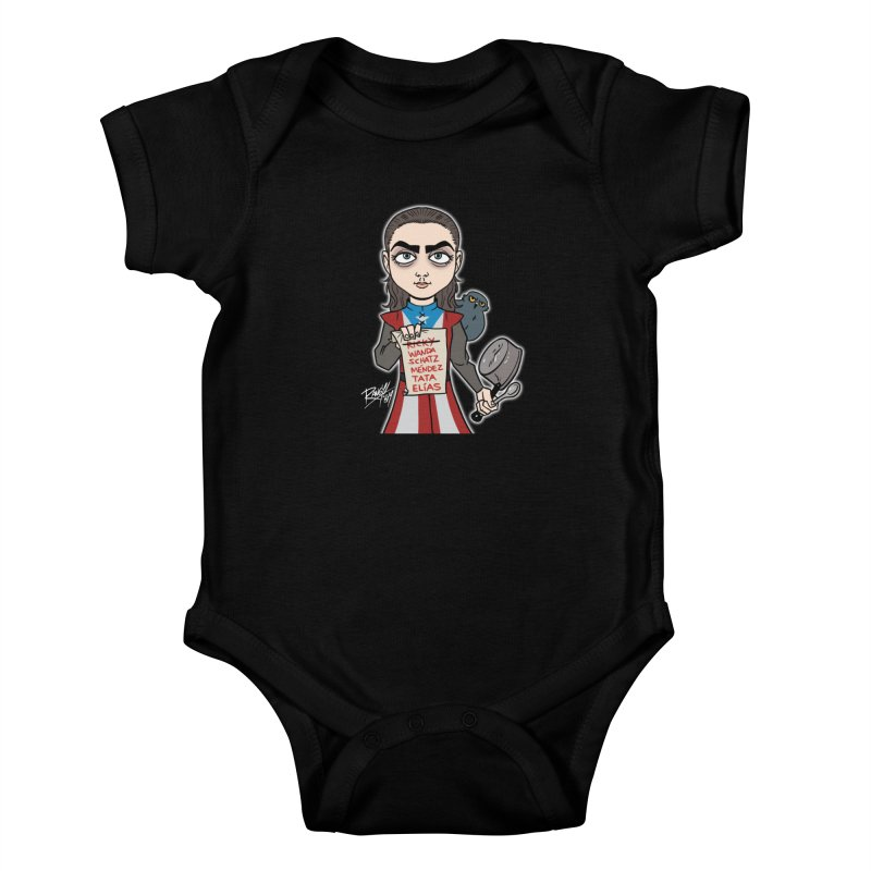 THE LIST Kids Baby Bodysuit by Tripleta Studio Shop
